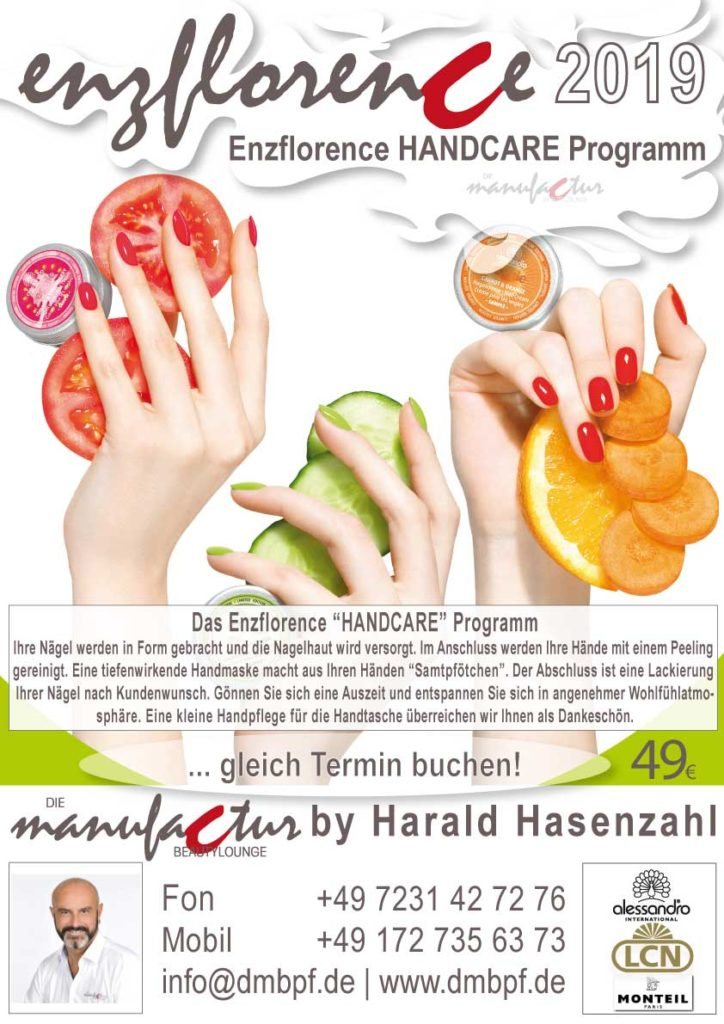 Die Manufactur Beautylounge Enzflorence Handcare 2019