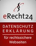 eRecht Datenschutz Siegel